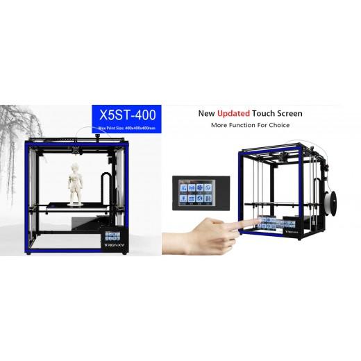 Принтер 3D Tronxy X5SA-400-2E с двойным экструдером