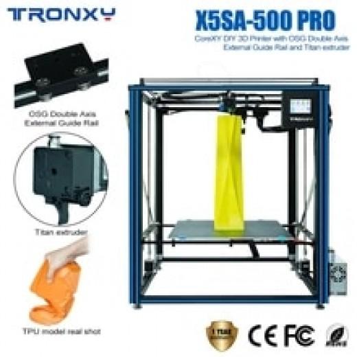 3D принтер TRONXY X5SA-500 PRO 500*500*600 мм