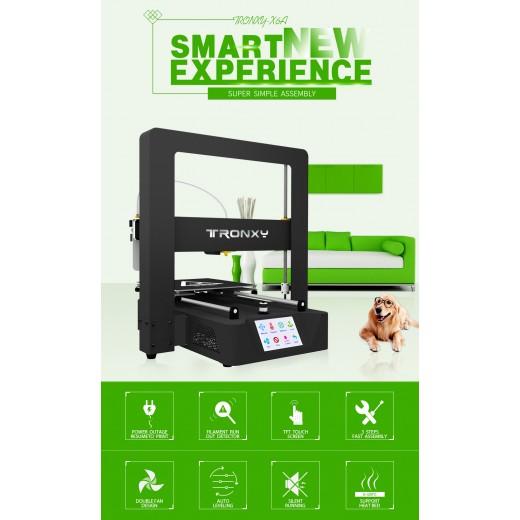 3D Принтер Tronxy X6A 3D Printer 220*220*220mm